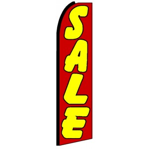 Sale - Advertising Feather Flag