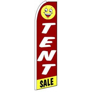 Tent Sale - Advertising Feather Flag Banner