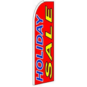 Holiday Sale - Advertising Feather Flag Banner