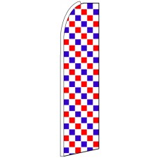 Red White Blue - Advertising Feather Flag Banner