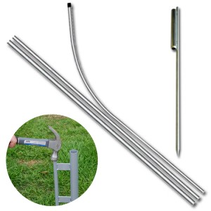 Flag Pole & Ground Spike Kit
