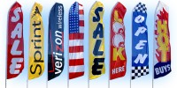 Stock Feather Flags