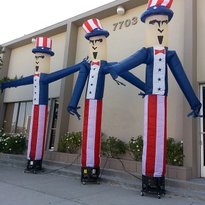 Wind Dancer® Air Puppet - Dancing Uncle Sam